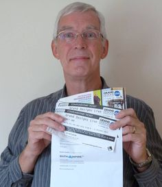 Congratulations to all our winners of free Grand Designs Live tickets.  Thanks to Chris Young for sending us a picture of your prize.  Please stay tuned to our social media pages for more competitions to come. #win #GDLive