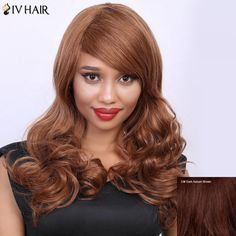 Wavy Long Side Bang Real Natural Hair Siv Wig #>=#>=#>=#>=#> Click on the pin to check out discount price, color, size, shipping, etc. Save and like it!