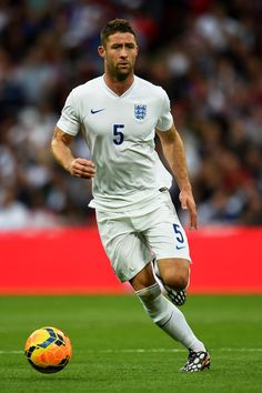 Gary Cahill of England (soccer players-in my opinion- will be more attractive than football players ever will)
