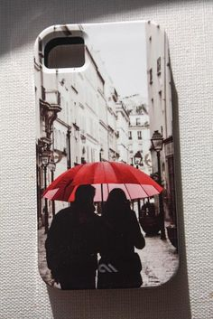 iphone 5 case Paris in the rain Romance iPhone by rebeccaplotnick, $35.00