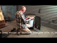 """Hannah"" Sawdust Burning Stove by Leyland Stoves Ltd - YouTube"