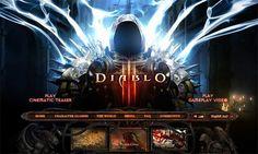 Diablo 3 Game Website