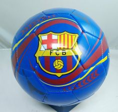 FC BARCELONA SOCCER OFFICIAL LOGO SIZE 5 SOCCER BALL by F.C. Barcelona. $22.50. Officially licensed by the Soccer. Officially licensed by the FC Barcelona. Top Quality, Manufactured by Rhinox Group. This terrific official-sized soccer ball is loaded with FC Barcelona logos. Perfect for display or actual play. Official Size 5 soccer ball. Designed for all weather conditions. Makes a great bookshelf decoration. Great for the dorm room or den. Arrives fully inflate...