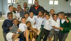 Shoes of Hope - #Georgiastateuniversity men's basketball coach Ron Hunter works with #samaritansfeet to provide shoes for children in South Africa. #GSU #GSUmensbasketball