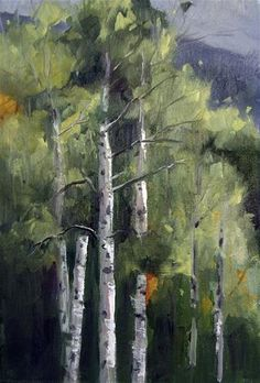 "Daily Paintworks - ""Day 14"" - Original Fine Art for Sale - © Nancy Romanovsky"