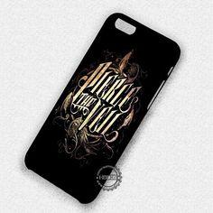 Gold Pierce The Veil - iPhone 7 6S  5C SE Cases & Covers