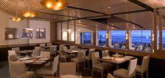 Poseidon Restaurant Cardiff, CA. Design by David Robinson Designs.