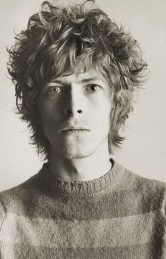 Young David Bowie.