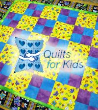 FREE Downey Quilts for Kids - they send you the cut fabric, you sew it and return it, and it goes to a child in need! Great for beginners (like me! :))
