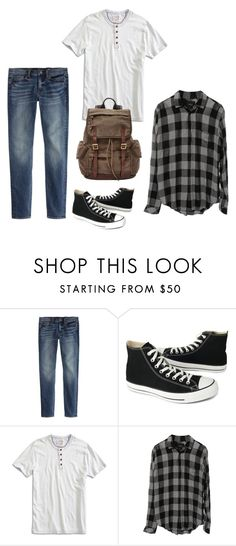"""""""gender neutral,more masculine, outfit for my friend :)"""" by xx-prince-gumball-xx ❤ liked on Polyvore featuring J.Crew, Converse, Lucky Brand, FOSSIL, men's fashion and menswear"""