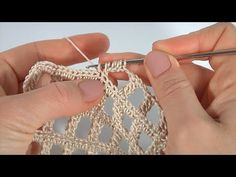 Crochet Motifs, Crochet Circles, Filet Crochet, Crochet Lace, Crochet Video, Crochet Instructions, Easy Knitting Patterns, Crochet Stitches Patterns, Crochet Clothes