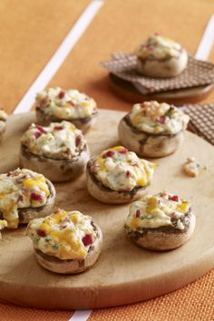 We wouldn't change a thing about this cream cheese and bacon stuffed mushroom appetizer recipe. Make them at your next get-together!