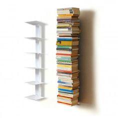 Bücherturm für 1m Bücher weiß