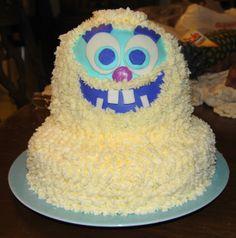 cake idea, first birthdays, yeti birthday, kid birthday, birthday cakes