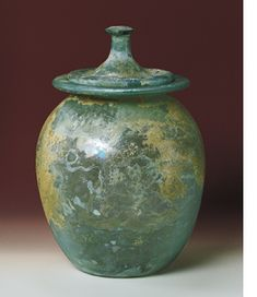 Final Resting Place - Roman cremation urn.