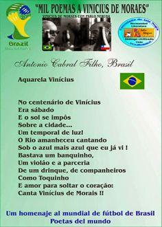 BLOGS DO ANTONIO CABRAL FILHO: MIL POEMAS A VINICIUS DE MORAES # ANTONIO CABRAL F...