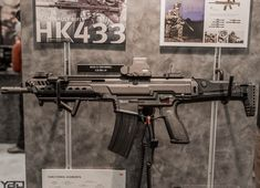 Heckler And Koch's new HK433 rifle!!!