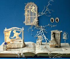 çizgili masallar: The Fairytale Princess by Su Blackwell