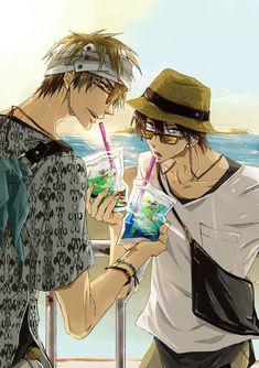 Anime Boys, Otaku Anime, Canon Anime, Cute Anime Coupes, Free Iwatobi Swim Club, Cute Gay Couples, Demon Slayer, Shounen Ai, Anime Scenery