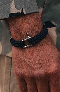 Pig and Hen Armbanden Sharp simon Navy Mens Fashion, Navy, Bracelets, Jewelry, Products, Lifestyle, Men, Moda Masculina, Hale Navy