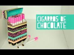 Cigarros de chocolate con cajetilla! (Anie) - YouTube