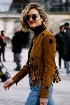 Street Style París Fashion Week Otoño Invierno 2016 | Galería de fotos 25 de 51 | VOGUE