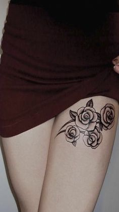 32 Best Inner Thigh Tattoos For Women Images In 2017 Cute Tattoos