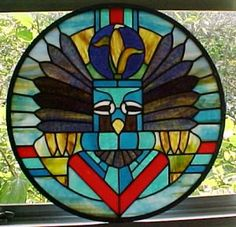 Southwestern stained glass art