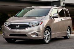 2016 Nissan Quest Platinum Passenger Minivan Exterior Shown