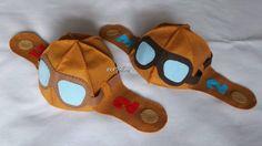 molde chapeu aviador - Google Search