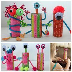 Hacemos juguetes con material de reciclaje | laclasedeptdemontse