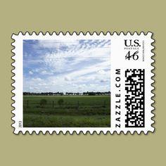 Back Road Postage Stamp