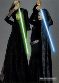 Star Wars: Episode II - Attack of the Clones - Promo shot of Nalini Krishan & Mary Oyaya