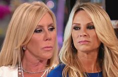 Vicki Gunvalson And Tamra Judge Reportedly Feuding Over RHOC Salary Dispute!