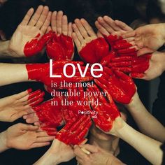 Love is the most durable power in the world. #MartinLutherKingJr #positivitynote #upliftingyourspirit