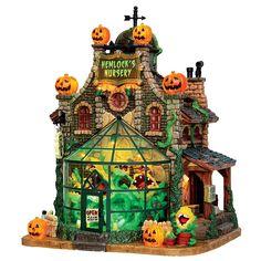 Lemax Spooky Town Collection Hemlock's Nursery - Seasonal - Halloween - Halloween Decor