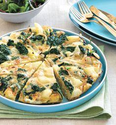 Kale, Potato and Onion Frittata recipe