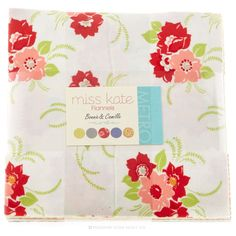 Miss Kate Flannels Layer Cake - Bonnie & Camille - Moda Fabrics