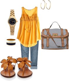 BBQ outfit, created by denverbecca01 on Polyvore
