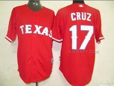 http://www.xjersey.com/rangers-17-cruz-red-jerseys.html RANGERS 17 CRUZ RED JERSEYS Only 32.17€ , Free Shipping!