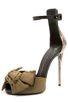 Giuseppe Zanotti Sandal Spring 2015 #Shoes #Heels