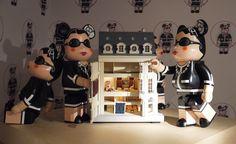 Chanel dolls at Harrods, London