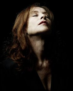French actress Isabelle Huppert. Photographer?