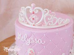 Gâteau couronne de princesse