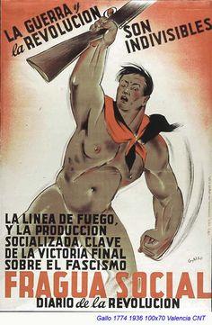 Spain - 1936. - GC - poster - autor - Luis García Gallo
