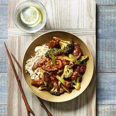 Broccoli, Mushroom & Beef Stir-Fry   - EatingWell.com