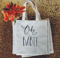"""Oh Baby!"" Baby Shower Gift Bag - $10 #baby #babyshower #ohbaby"