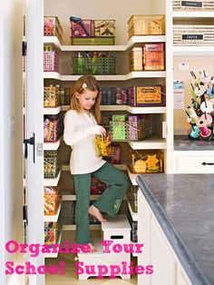 Organize your school supplies