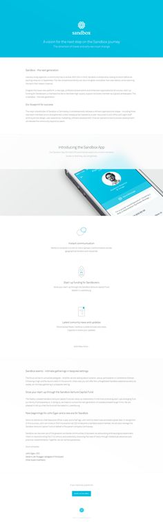 Microsite template by Angel Bartolli