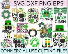 Patrick's Day Bundle 15 svg dxf eps png Files for Leprechaun, Cardmaking And Papercraft, Silhouette Studio Designer Edition, Digital Form, St Patricks Day, Saint Patricks, Photo Cards, My Images, Vinyl Decals